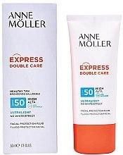 Parfumuri și produse cosmetice Fluid cu protecție solară pentru față - Anne Moller Double Care Ultralight Facial Protection Fluid SPF50