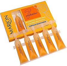 """Parfumuri și produse cosmetice Fiole pentru păr """"Șapte efecte"""" cu ulei de argan - Marion"""
