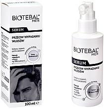 Духи, Парфюмерия, косметика Ser împotriva căderii părului - Biotebal Men Serum