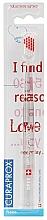 """Parfumuri și produse cosmetice Periuță de dinți """"Ultra moale"""", seria """"Pentru îndrăgostiți"""", pentru stângaci - Curaprox Ultra Soft Left Side Toothbrush Valentines Edition"""