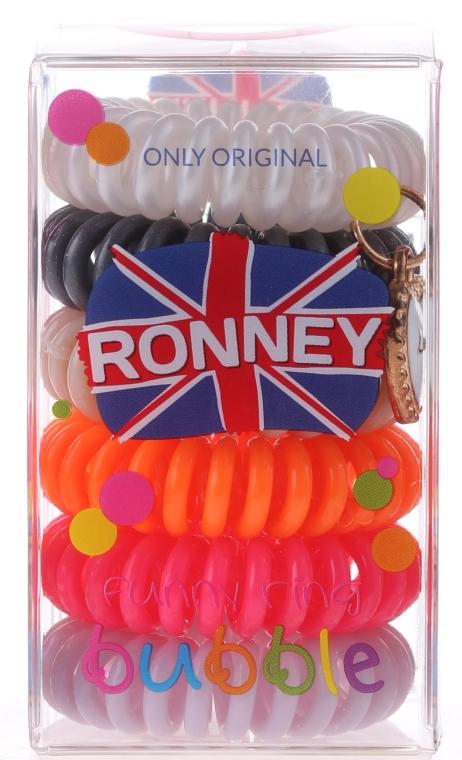 Set elastice de păr - Ronney Professional Funny Ring Bubble 7 — Imagine N1