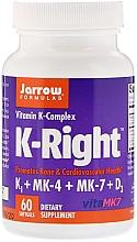 Parfumuri și produse cosmetice Complex de vitamina K - Jarrow Formulas K-Right