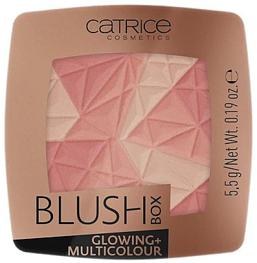 Fard de obraz - Catrice Blush Box Glowing + Multicolour