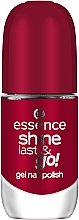 Parfumuri și produse cosmetice Lac de unghii cu efect de gel lac - Essence Shine Last & Go! Gel Nail Polish