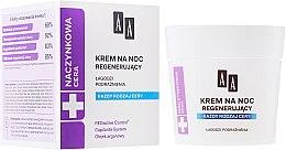 Parfumuri și produse cosmetice Crema regenerantă de noapte pentru față - AA Cosmetics Vascular Skin Regenerating Night Cream