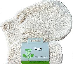 Parfumuri și produse cosmetice Mănușă de baie, ivory - Lynia