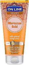 Parfumuri și produse cosmetice Скраб для тела - On Line Senses Body Scrub Moroccan Gold