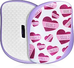 Parfumuri și produse cosmetice Perie de păr - Tangle Teezer Compact Styler Girl Power