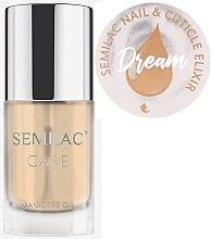 Parfumuri și produse cosmetice Ulei pentru unghii și cuticule - Semilac Care Nail & Cuticle Elixir Dream