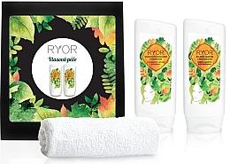 Parfumuri și produse cosmetice Set - Ryor Hair Care Set (shm/200ml + cond/200ml + towel)