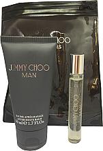 Parfumuri și produse cosmetice Jimmy Choo Man - Set (edt/mini/7.5ml + afsh/balm/50ml)
