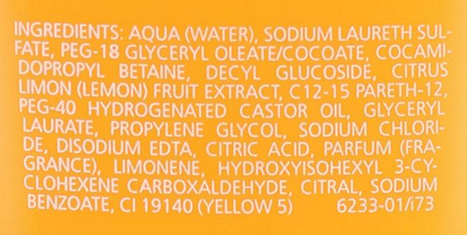 """Gel de duș """"Citrice"""" - Juvena Body Care Vitalizing Citrus Shower Gel — Imagine N3"""