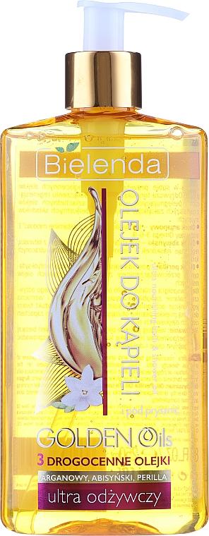 Ulei de duș nutritiv cu uleiuri prețioase - Bielenda Golden Oils