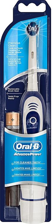 Periuță electrică de dinți, alb-albastru - Oral-B AdvancePower Precision Clean — Imagine N1