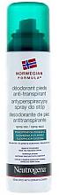 Parfumuri și produse cosmetice Deodorant pentru picioare - Neutrogena Formula Norweska Spray