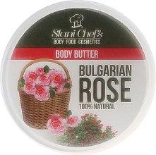 "Parfumuri și produse cosmetice Cremă Unt de corp ""Trandafir bulgar"" - Hristina Stani Chef'S Bulgarian Rose Body Butter"