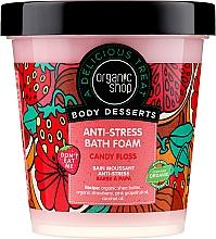 Parfumuri și produse cosmetice Spumă de baie - Organic Shop Body Desserts Sugar Vata