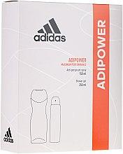 Set - Adidas Adipower Women (sh/gel/250ml + deo/spray/150ml) — Imagine N1