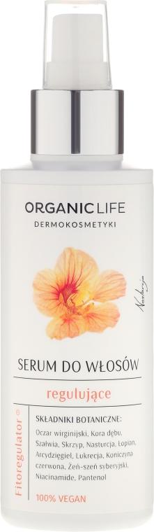 Ser regenerant pentru păr - Organic Life Dermocosmetics Hair Serum — Imagine N1
