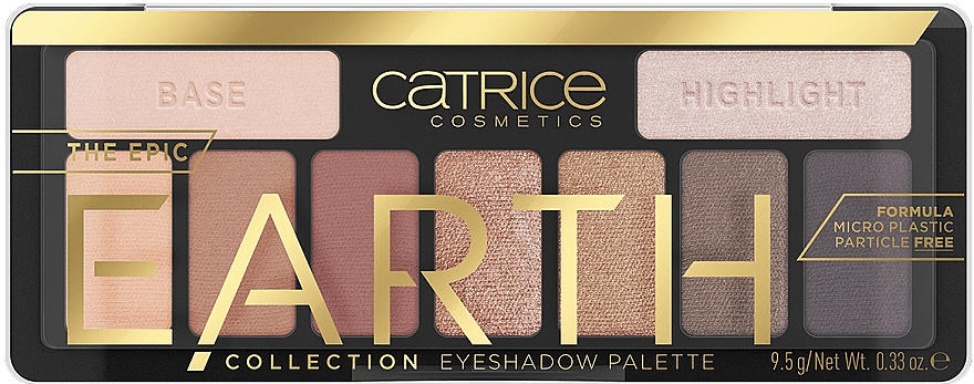 Paletă farduri de pleoape - Catrice The Epic Earth Collection Eyeshadow Palette