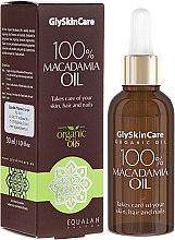 Parfumuri și produse cosmetice Ulei de macadamia - GlySkinCare Macadamia Oil 100%