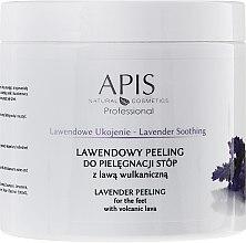 Parfumuri și produse cosmetice Peeling pentru picioare cu extract de lavandă - APIS Professional Lavender Soothing Lavender Peeling For Foot Care
