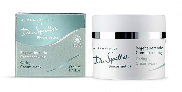 Ухаживающая крем-маска - Dr. Spiller Alpenrausch Caring Cream Mask — фото N1