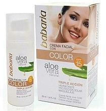 Parfumuri și produse cosmetice BB-cream - Babaria Aloe Vera BB Cream SPF15