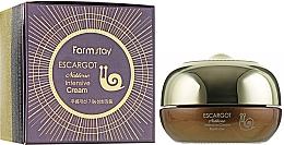 Parfumuri și produse cosmetice Cremă cu extract de mucină de melc pentru pleoape - FarmStay Escargot Noblesse Intensive Eye Cream