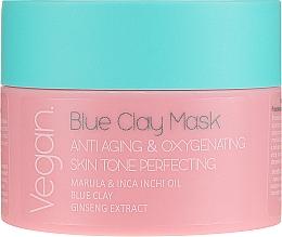 Parfumuri și produse cosmetice Mască din argilă albastră pentru față - Nacomi Blue Clay Mask Anti-Aging