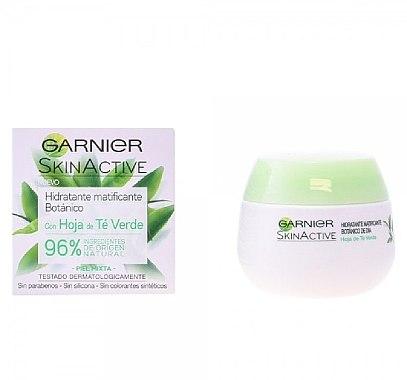 Cremă hidratantă pentru față - Garnier Skin Active Mattifying Moisturizing Cream — Imagine N1