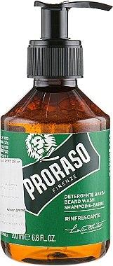 Șampon pentru barbă - Proraso Refreshing Beard Wash