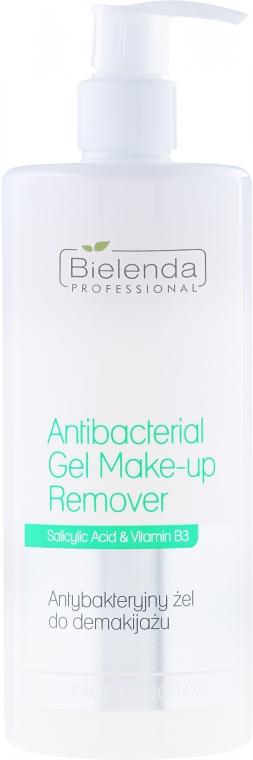 Gel antibacterian pentru îndepărtarea machiajului - Bielenda Professional Face Program Antibacterial Gel Make-up Remover