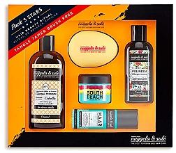Parfumuri și produse cosmetice Set - Nuggela & Sule Set (shm/100ml + shm/250ml + mask/50ml + h/spray/53ml + brush)