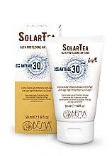 Parfumuri și produse cosmetice Cremă cu protecție solară pentru față - Bema Cosmetici Solar Tea Anti-Age High Protection Sun Cream SPF30