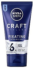 Parfumuri și produse cosmetice Gel de păr - Nivea Men Craft Stylers Fixating Styling Gel
