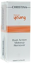 Parfumuri și produse cosmetice Soluţie demachiantă - Christina Forever Young Dual Action Make Up Remover