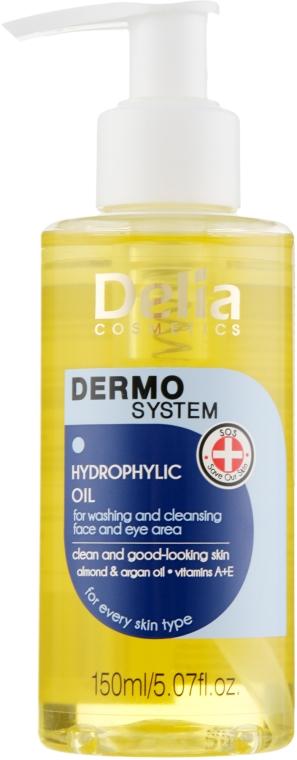 Ulei hidrofil pentru spălarea feței și a ochilor - Dermo System Delia