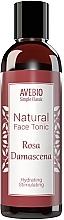 Parfumuri și produse cosmetice Tonic natural pentru față - Avebio Natural Face Tonic Rosa Damascena
