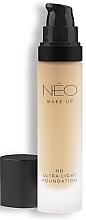 Parfumuri și produse cosmetice Fond de ten - NEO Make Up HD Ultra Light Foundation