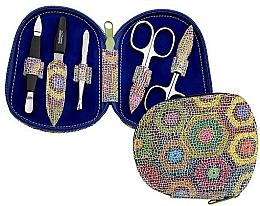 Parfumuri și produse cosmetice Set de manichiură pentru unghii - DuKaS Premium Line Manicure Set 5-piece PL 111FP