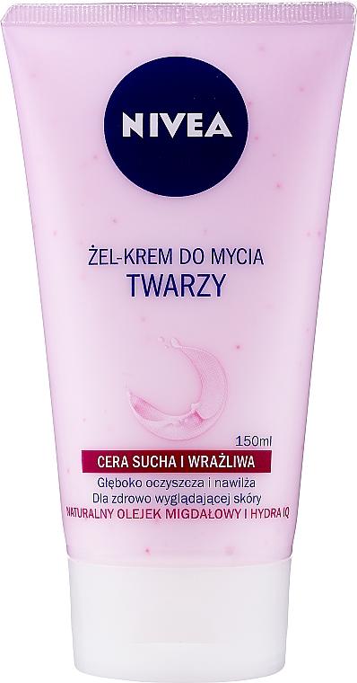 Крем-гель для умывания нежный для сухой и чувствительной кожи - Nivea Visage Cleansing Soft Cream Gel