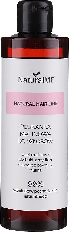 Agent de clătire cu oțet de zmeură, pentru păr - NaturalME Natural Hair Line Balm