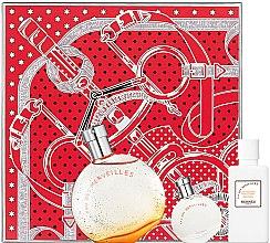 Parfumuri și produse cosmetice Hermes Eau Des Merveilles - Set (edt/100ml + edt/7.5ml + b/lot/80ml)