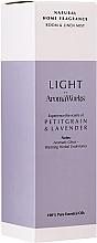 """Parfumuri și produse cosmetice Odorizant de aer """"Petitgrain și Lavandă"""" - AromaWorks Light Range Room Mist"""