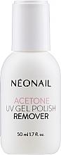 Parfumuri și produse cosmetice Soluție pentru înlăturarea lacului de unghii - NeoNail Professional Acetone UV Gel Polish Remover