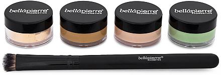 Set contouring pentru față - Bellapierre Extreme Concealing Kit — Imagine N2