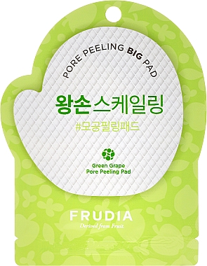 Peeling facial - Frudia Pore Peeling Big Pad Green Grape