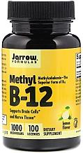Parfumuri și produse cosmetice Suplimente nutritive - Jarrow Formulas Methyl B-12 Lemon Flavor 1000 mcg