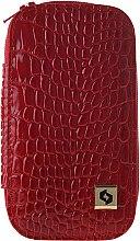Parfumuri și produse cosmetice Set pentru manichiură MS-01, roșu - Staleks Manicure Set